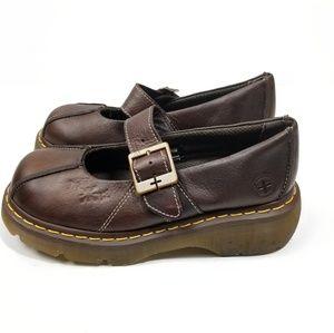Dr Martens Vintage Mary Jane Platform Shoes